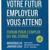 Affiche Forum 2014